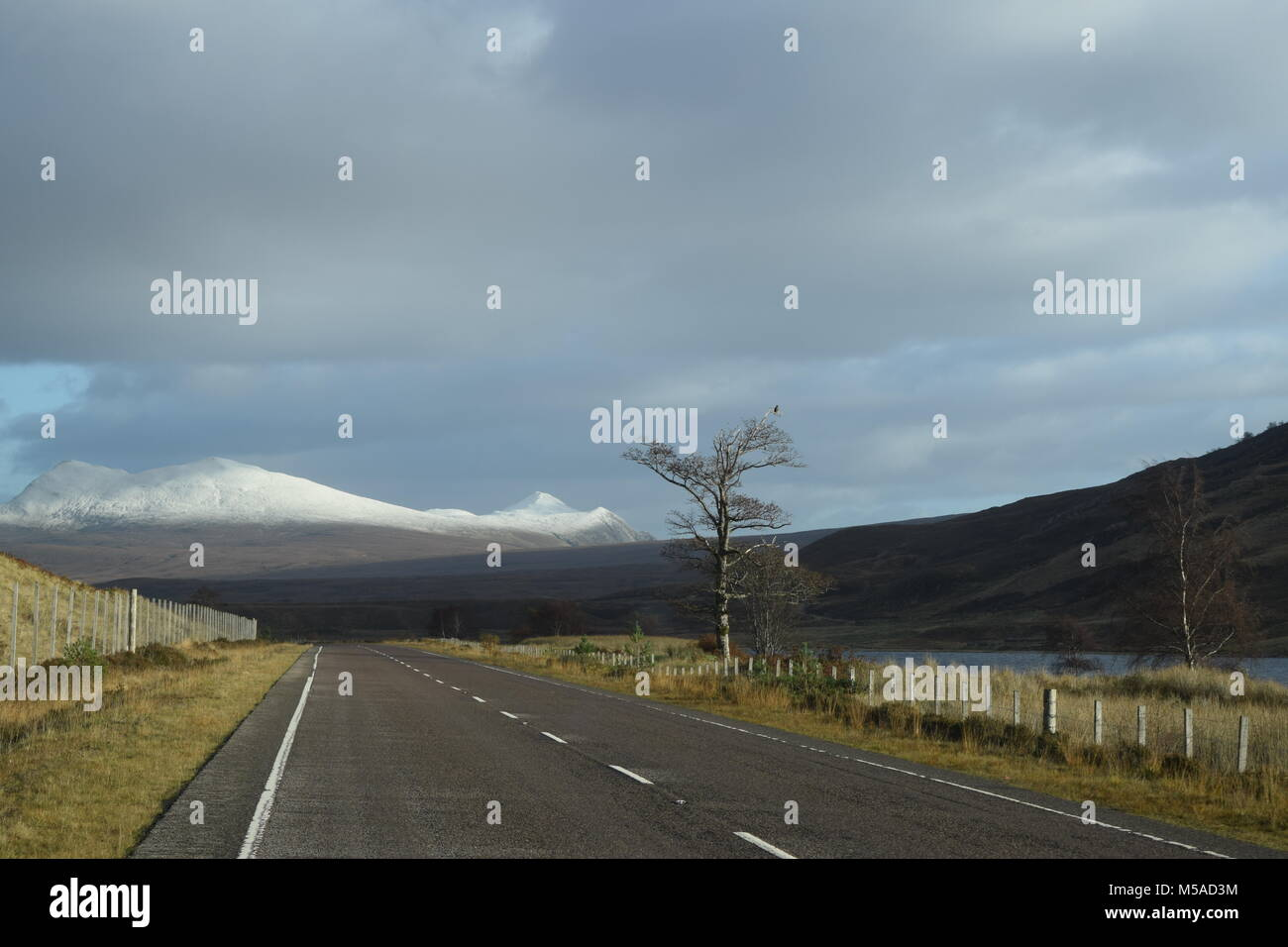 'torridon mountains' 'gairloch' 'Scotland' 'bhienn eigg' 'highlands' 'loch - Stock Image