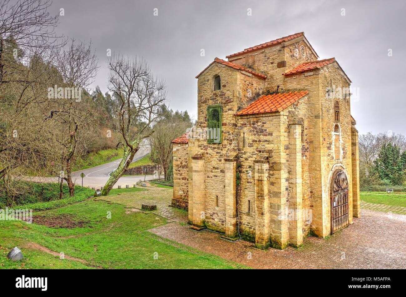 San Miguel de Lillo, Oviedo, Asturias, Spain - Stock Image