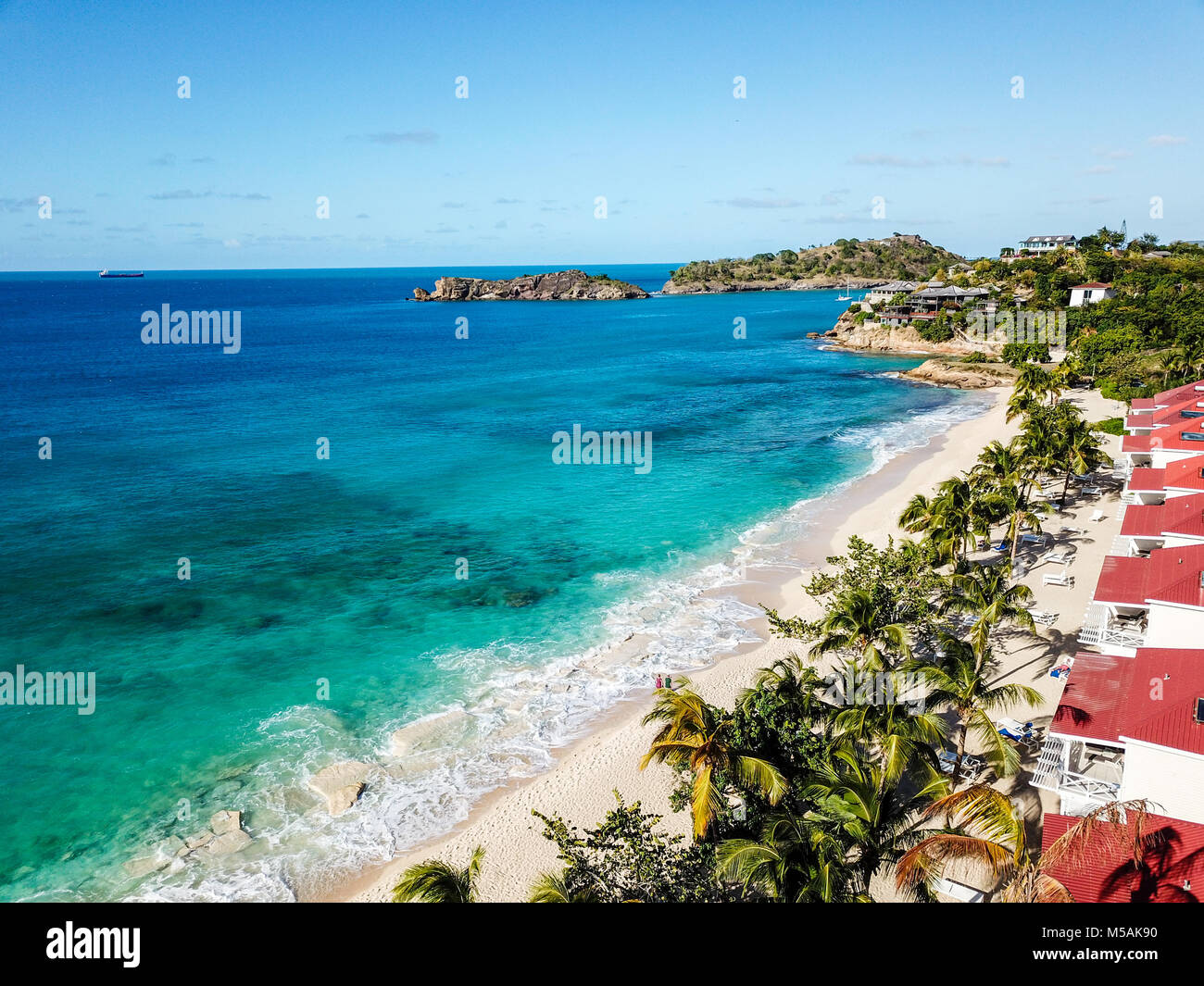 Galley Bay Beach Resort and Spa, Antigua - Stock Image