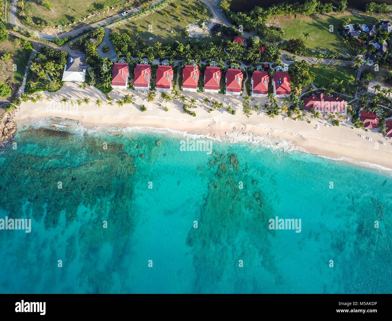 Galley Bay Beach Resort and Spa, Antigua - Stock Image
