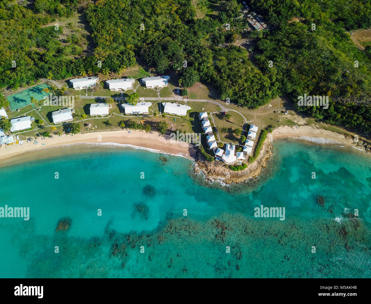 Hawksbill Beach Resort, Antigua - Stock Image