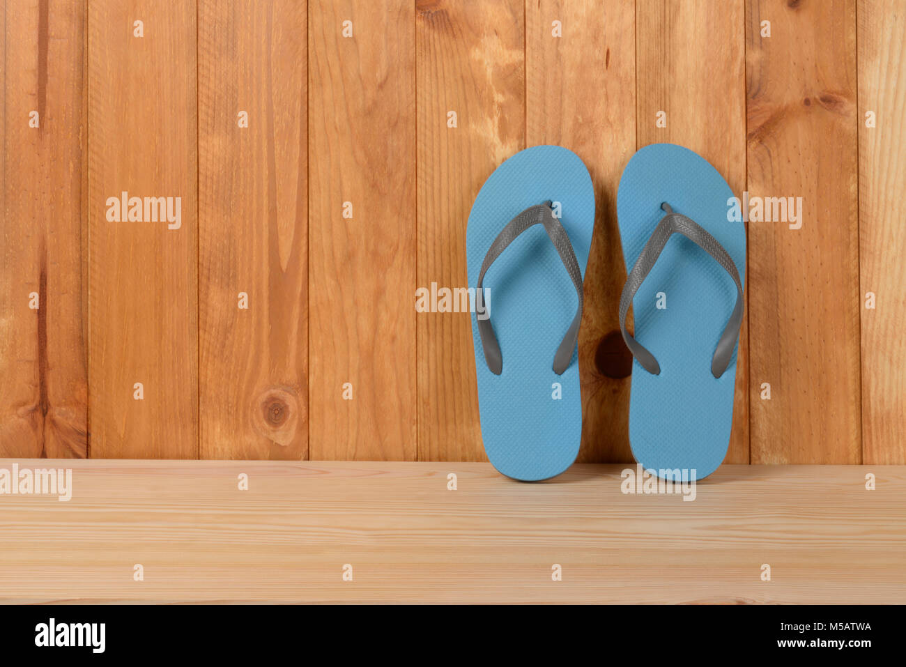 ada577a2d Brown Flip Flops Stock Photos   Brown Flip Flops Stock Images - Alamy