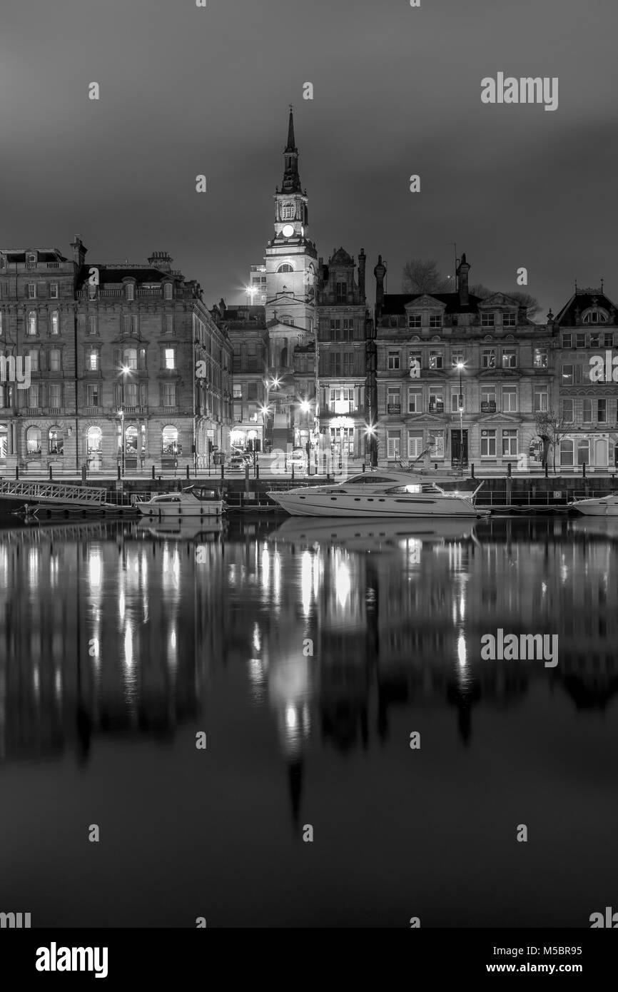 Newcastle quayside - Stock Image