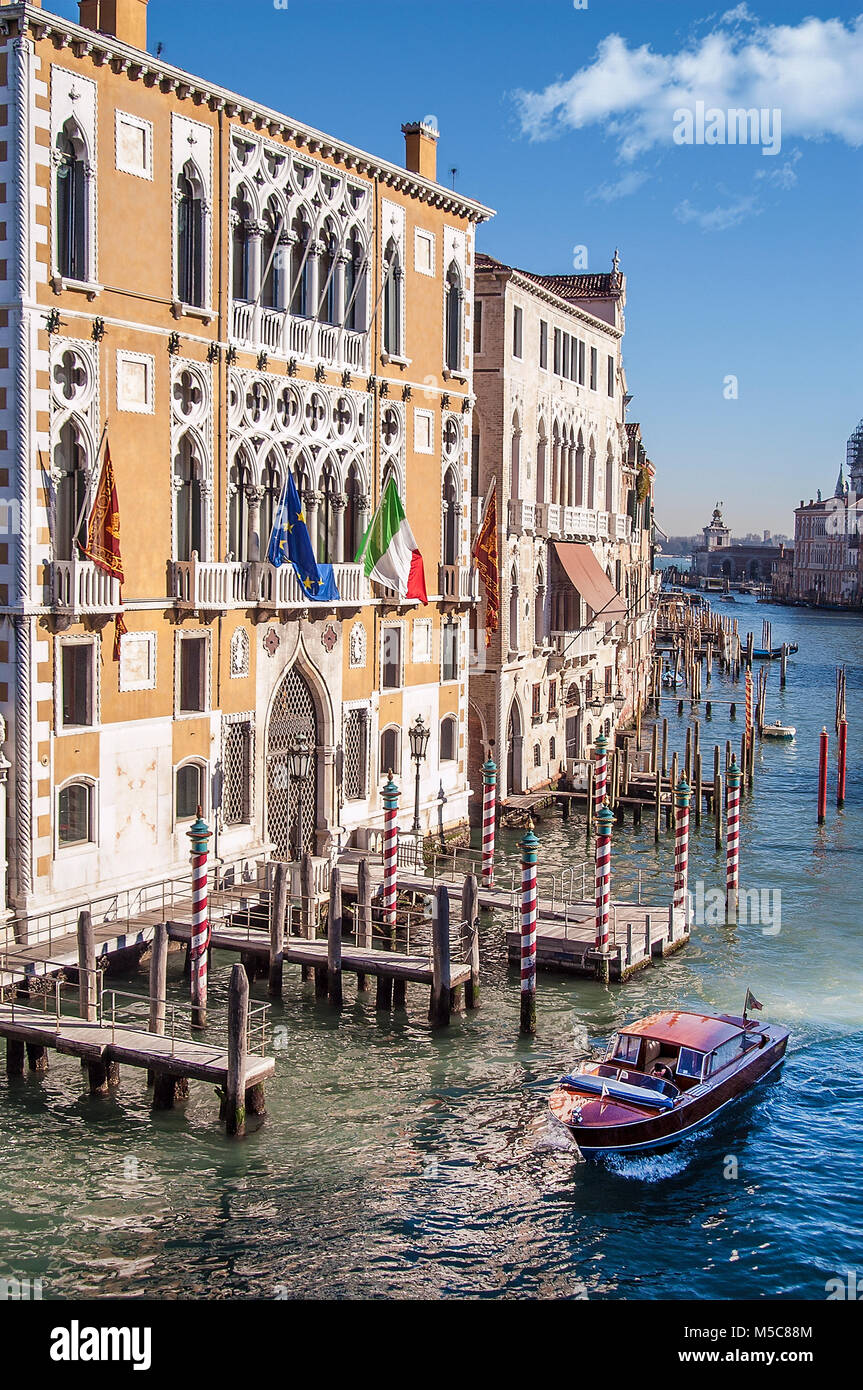 Grand Canal,Venice,Italy - Stock Image