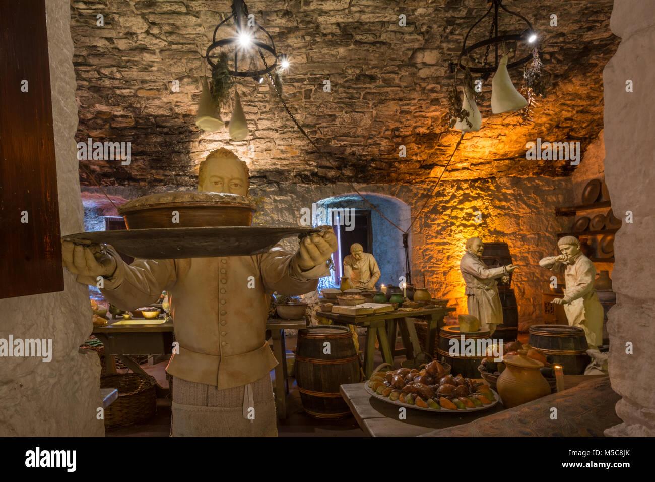The Great Kitchens, Stirling Castle, Scotland, UK - Stock Image