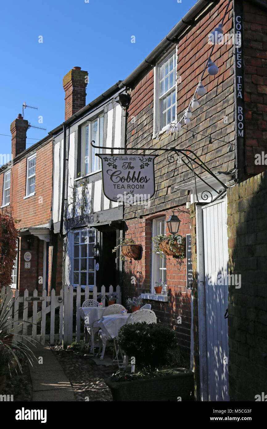 Cobbles Tea Rooms, Hylands Yard, off The Mint, Rye, East Sussex, England, Great Britain, United Kingdom, UK, Europe Stock Photo