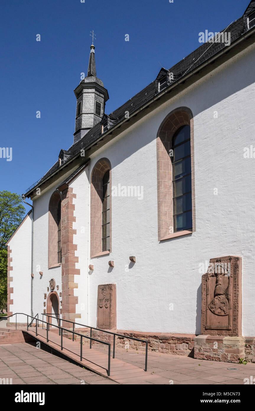 Kloster Neuburg, Heidelberg-Ziegelhausen, Baden-Württemberg, Deutschland - Stock Image