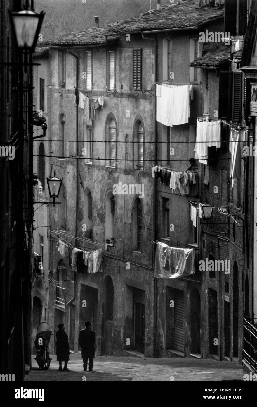 Italy Siena Tuscany. 2000 - Stock Image