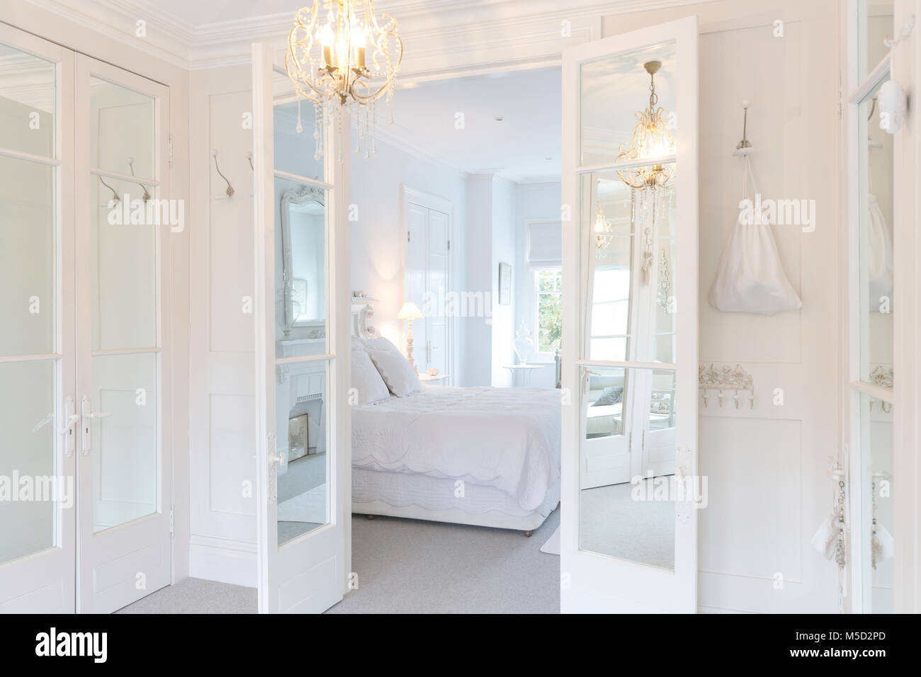 French Bedroom High Resolution Stock Photography And Images Alamy