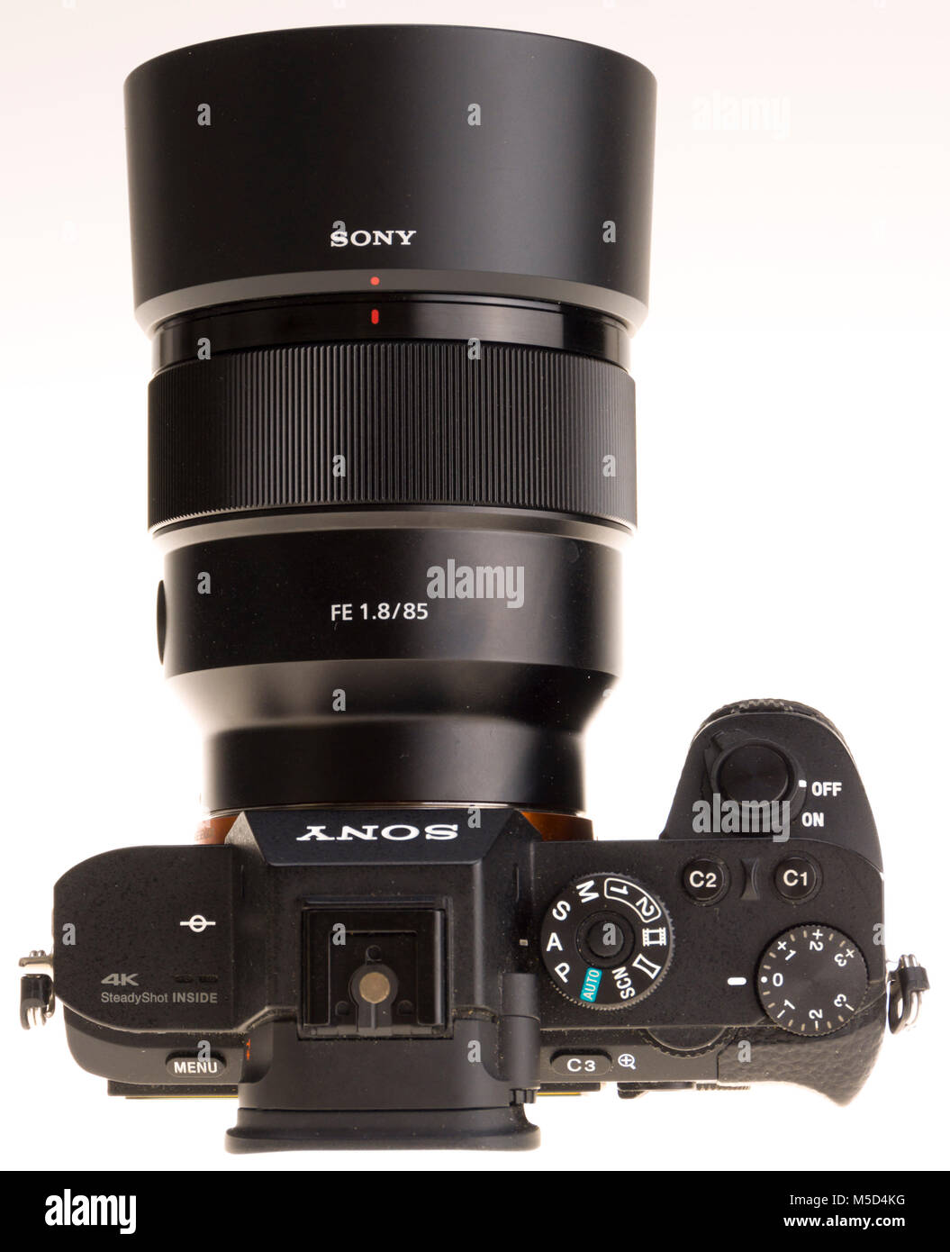 Sony mirrorless professional full frame camera with 85mm f/1.8 Stock ...