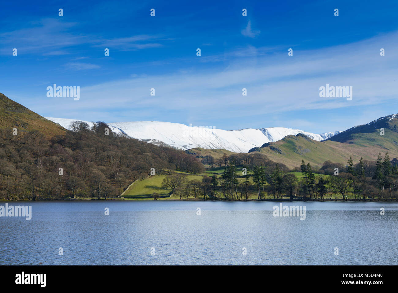 Lake District, Cumbria, England - Ullswater in early spring. - Stock Image