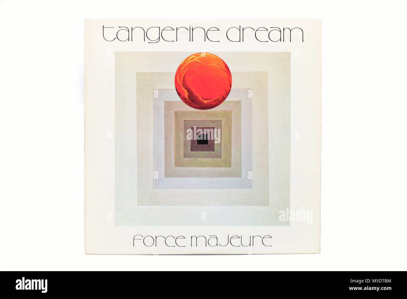 Tangerine Dream Force Majeure LP music vinyl album cover art
