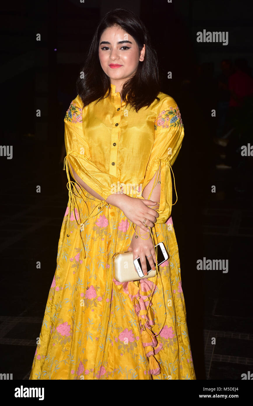 Zaira Wasim High Resolution Stock Photography And Images Alamy