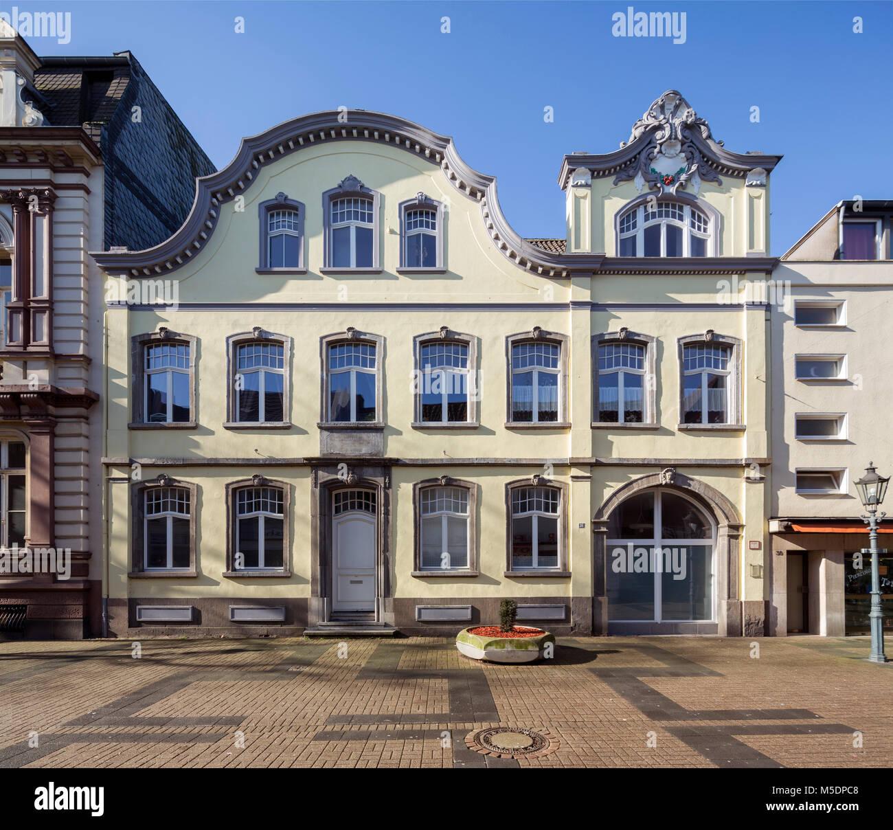 Krefeld-Uerdingen, Wiegelsches Haus, 1754 erbaut Stock Photo