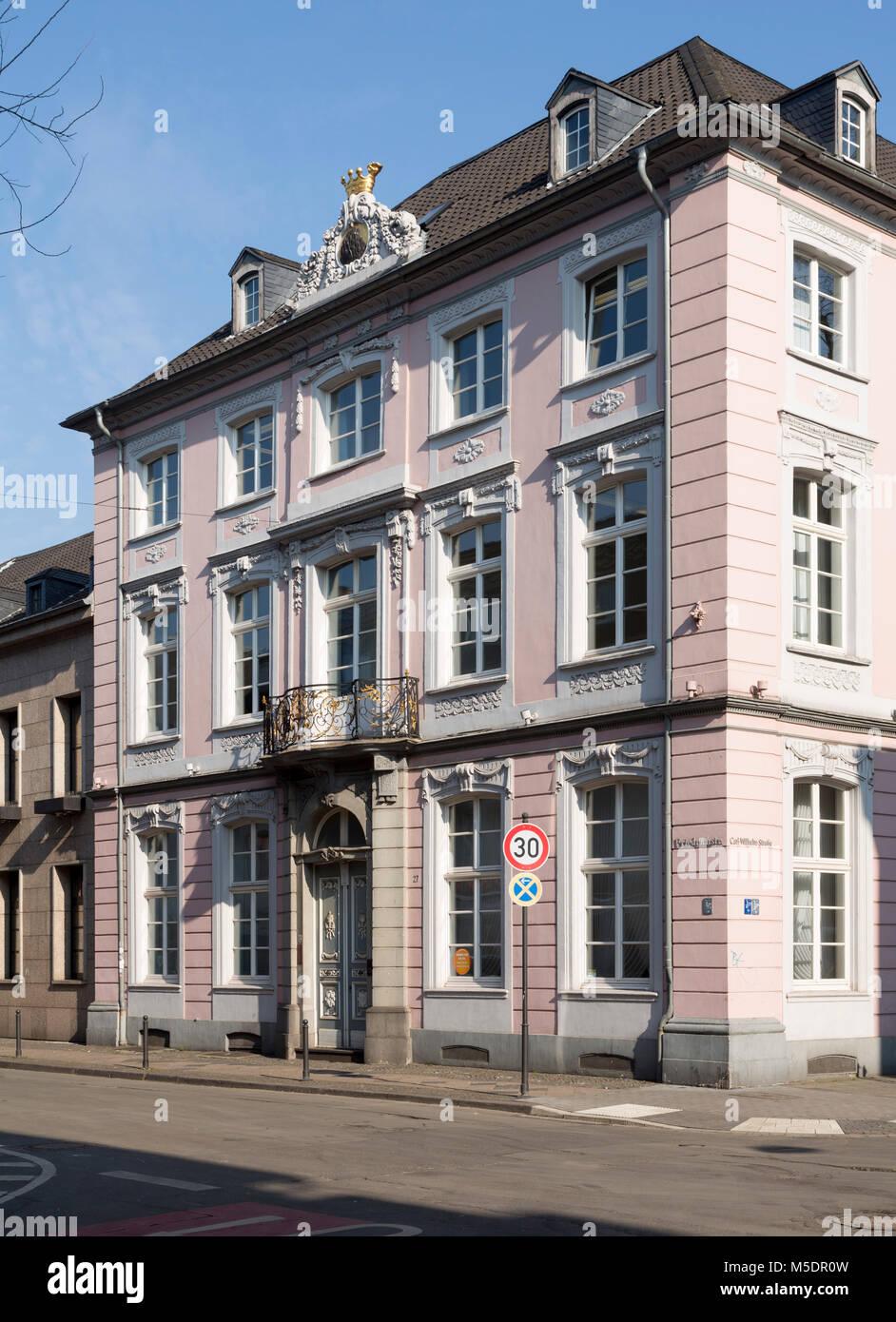 Cool Fassade Haus Foto Von Krefeld, Floh (bis 1810 Von Der Leyen),
