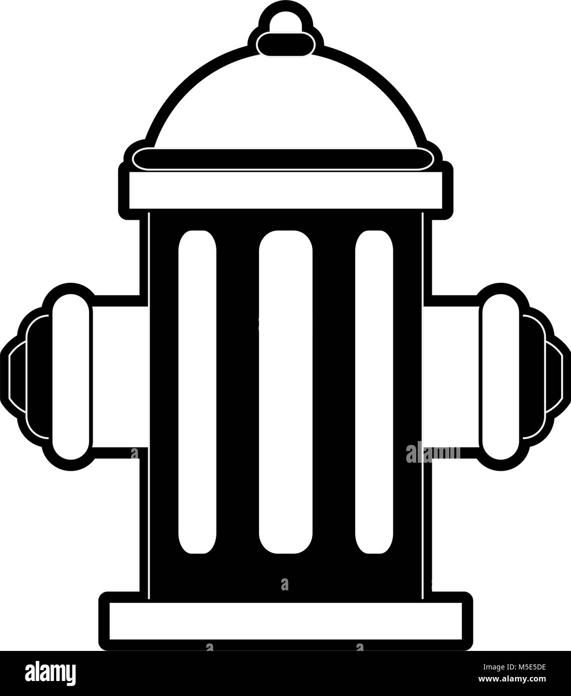 water hydrant icon image - Stock Vector