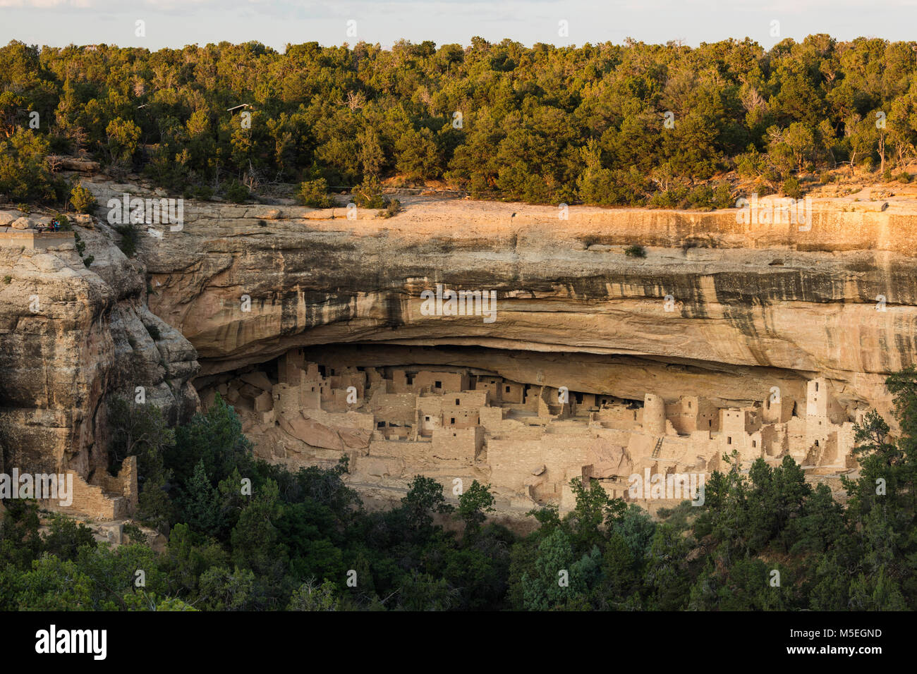 Cliff Palace, Mesa Verde National Park, Colorado - Stock Image