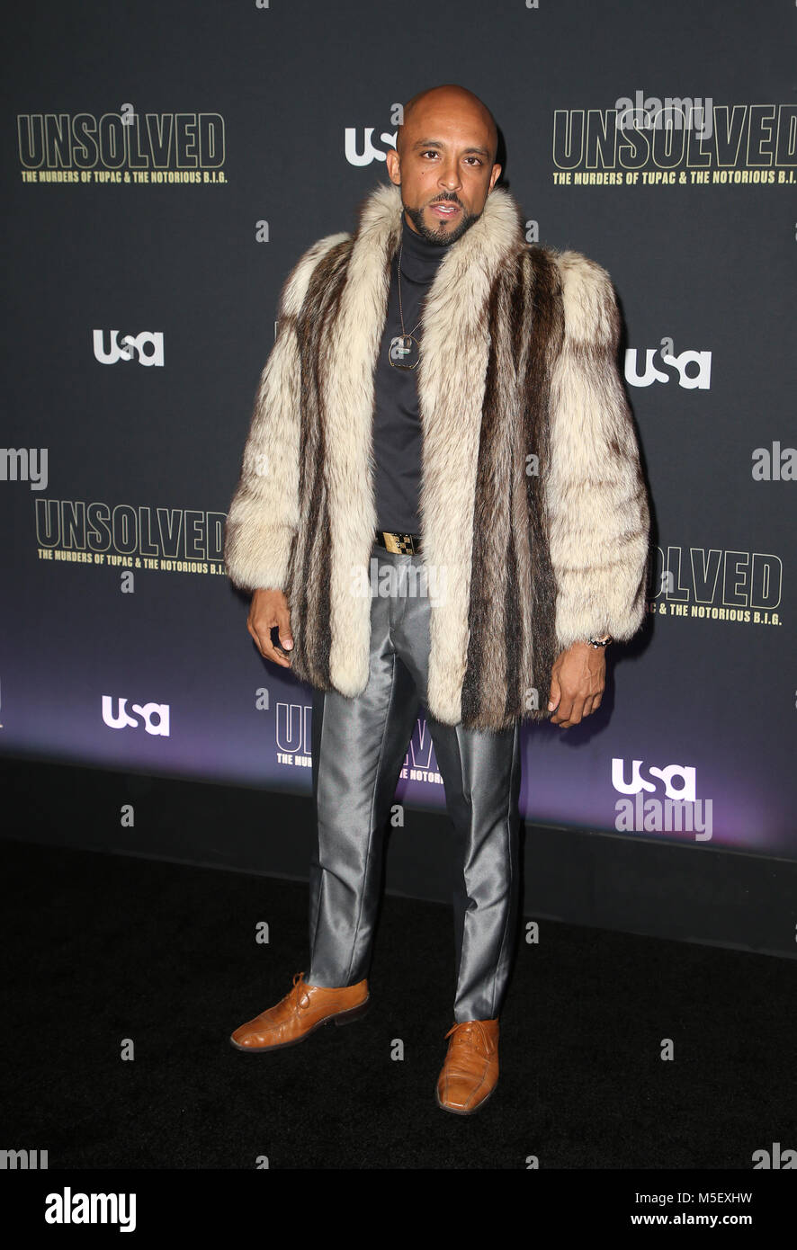 HOLLYWOOD, CA - FEBRUARY 22: David Bianchi, at Premiere Of USA Stock