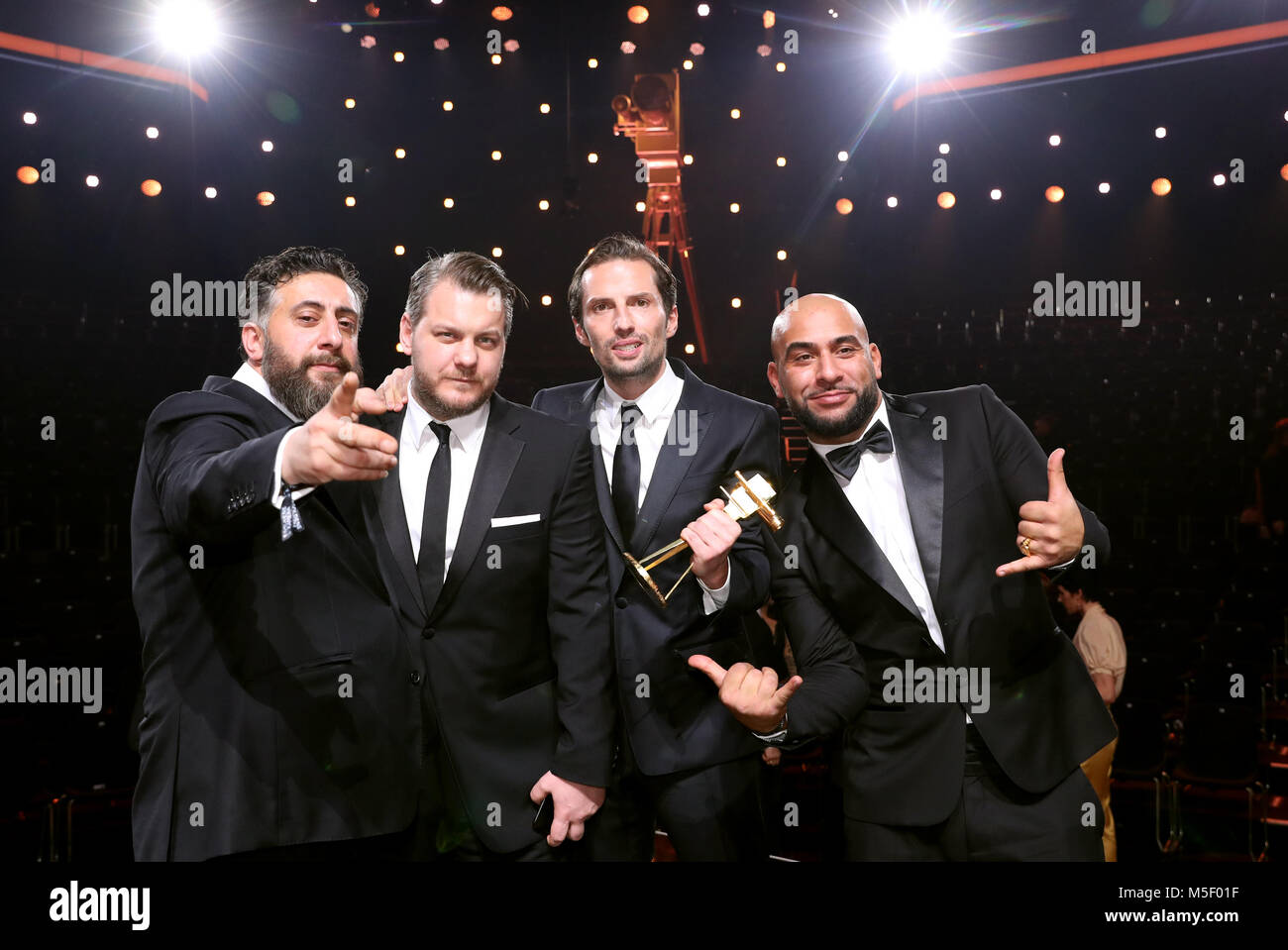 Golden camera Film and television awards is to the Golden camera for