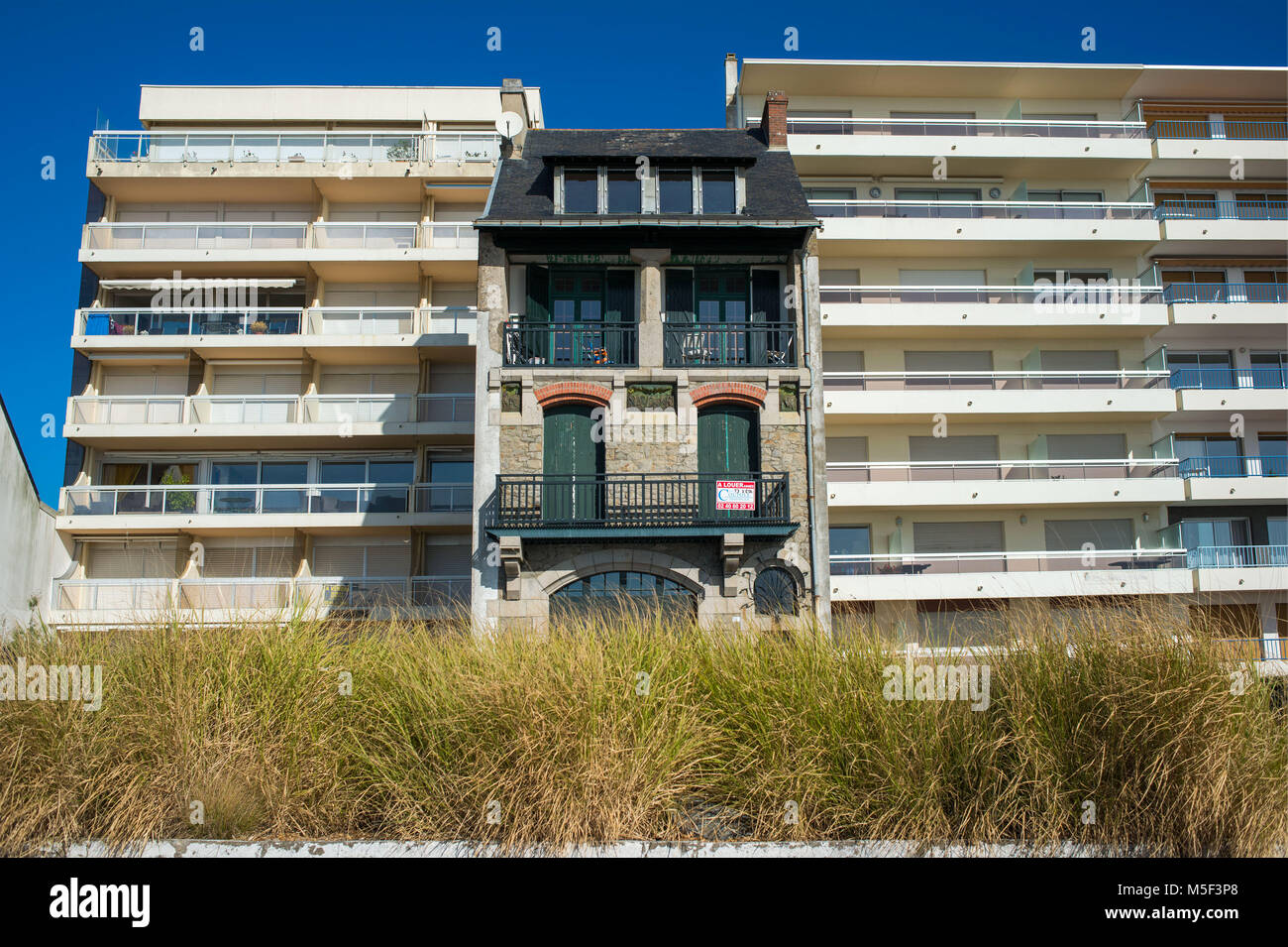 La Baule, France. - Stock Image