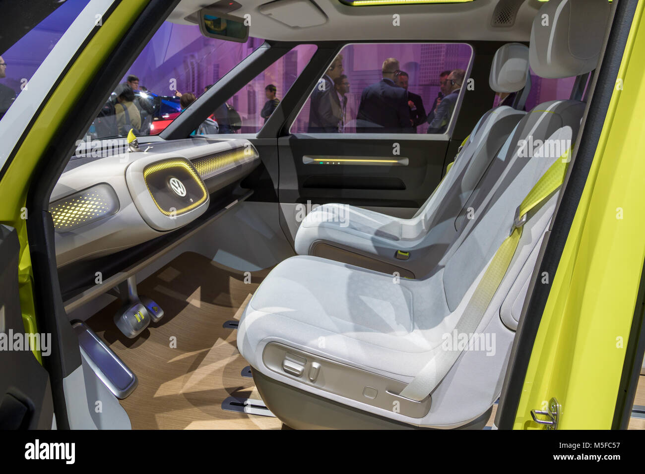 Vw Van Interior Stock Photos Images