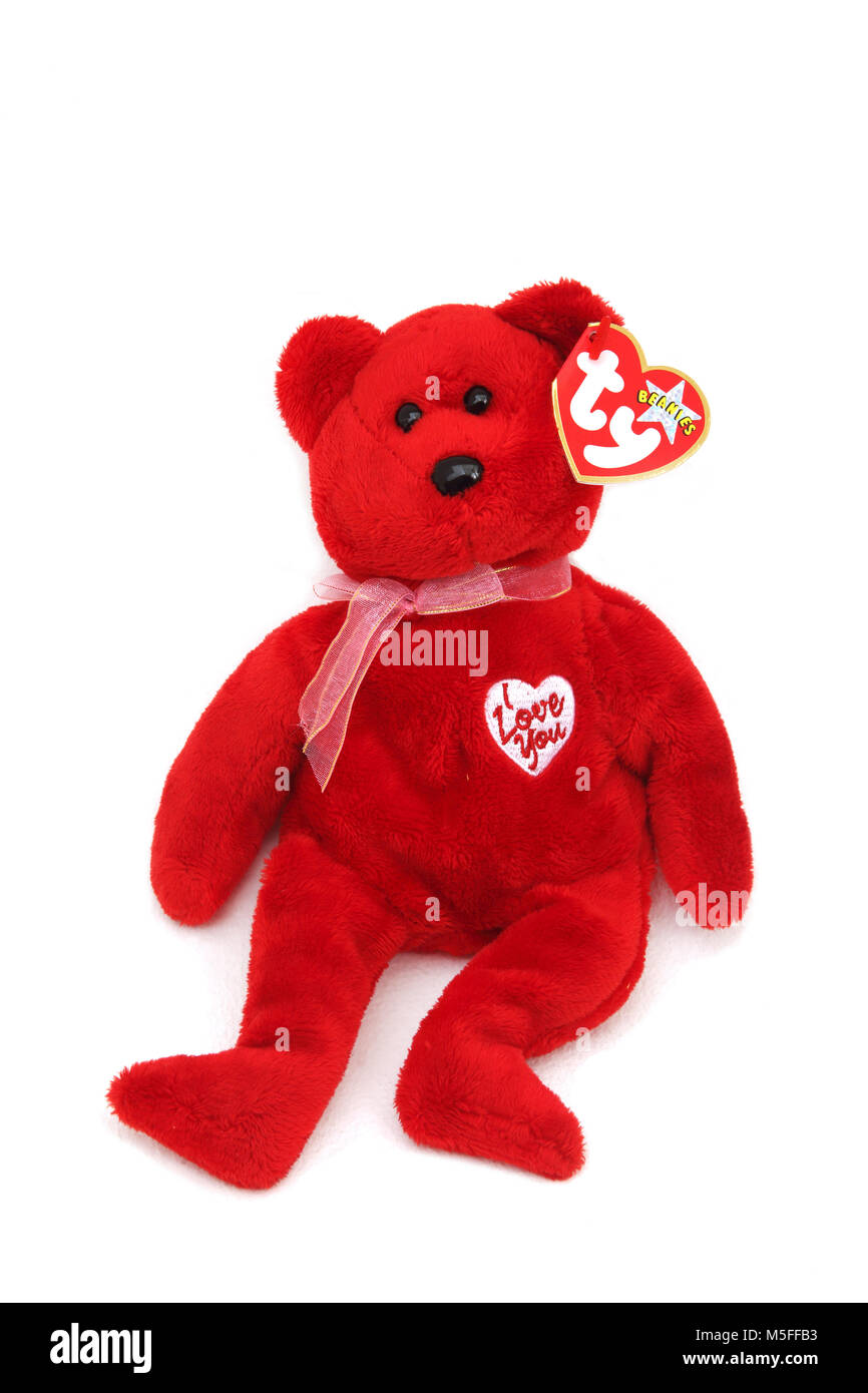 Beanie Baby Bear Stock Photos   Beanie Baby Bear Stock Images - Alamy 4a641231f6d7