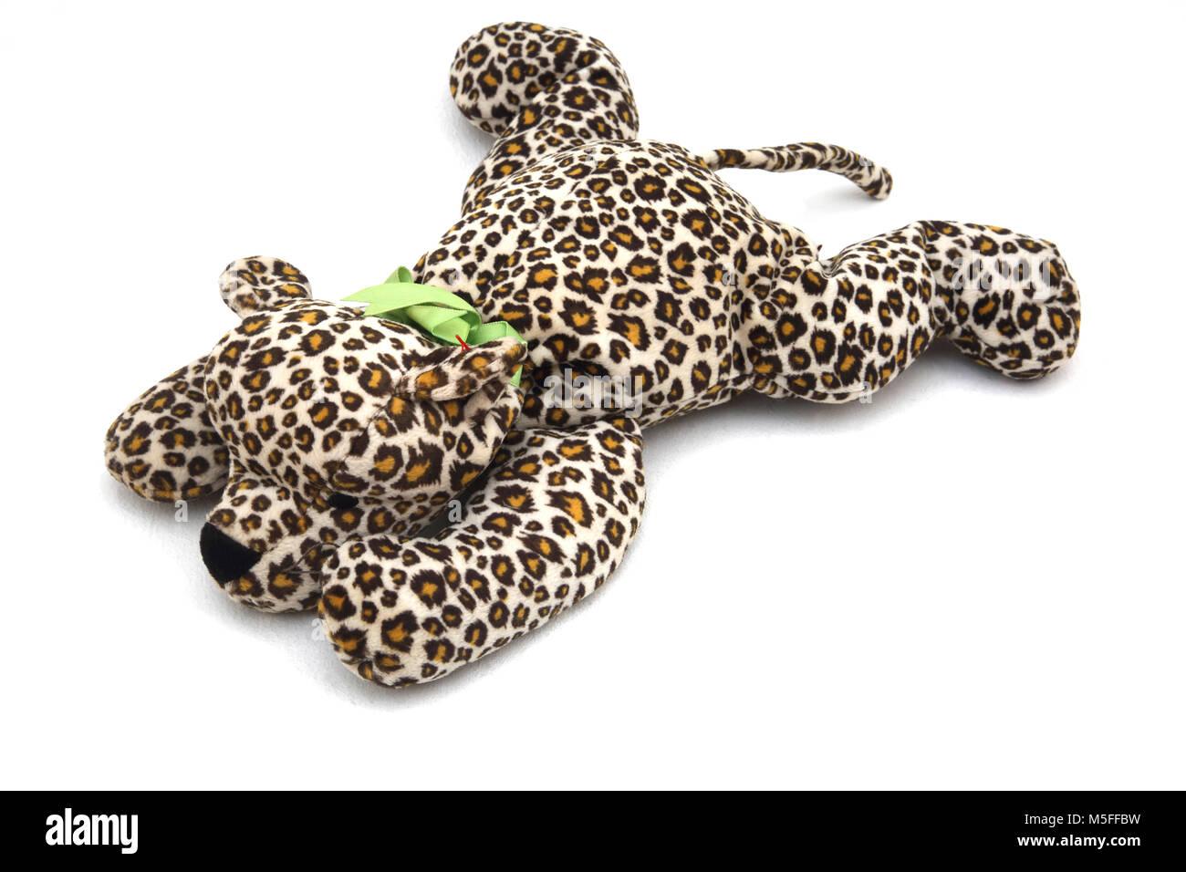 TY Beanie Buddy Leopard - Stock Image