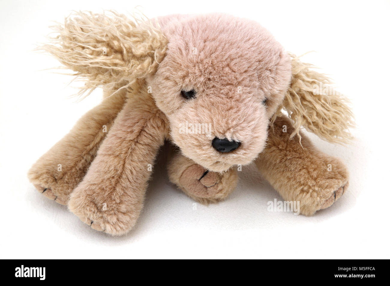 TY Beanie Baby Dog - Stock Image