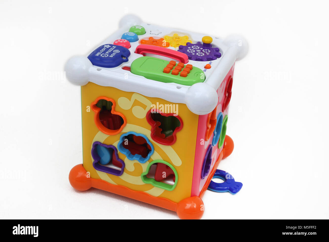 Melody Puzzle Box Educational Toy - Stock Image