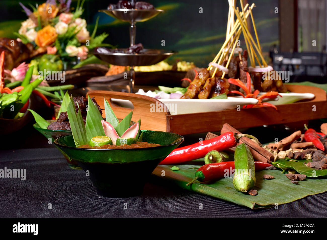 21st Feb 2018 : Images from Ramadan Promo photoshoot  at The Mines Resort & Golf Club. Pix by Mike Casper - Stock Image