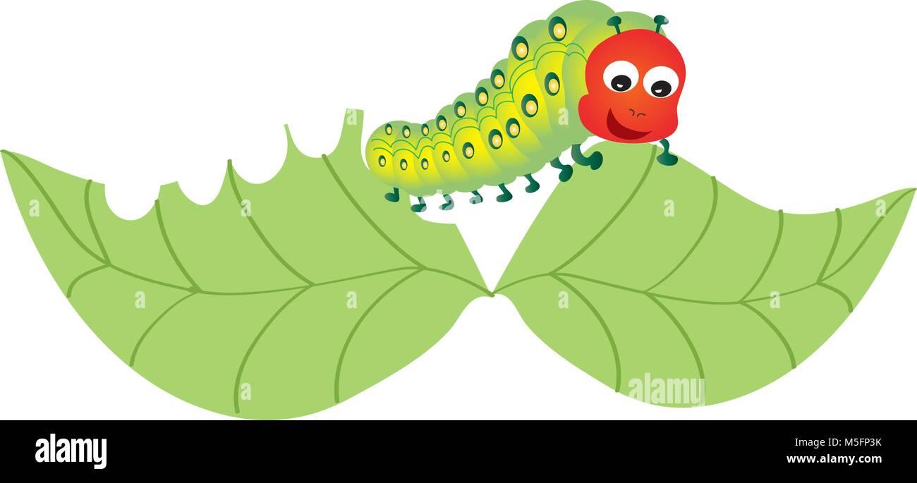 Cartoon Caterpillar High Resolution Stock Photography And Images Alamy