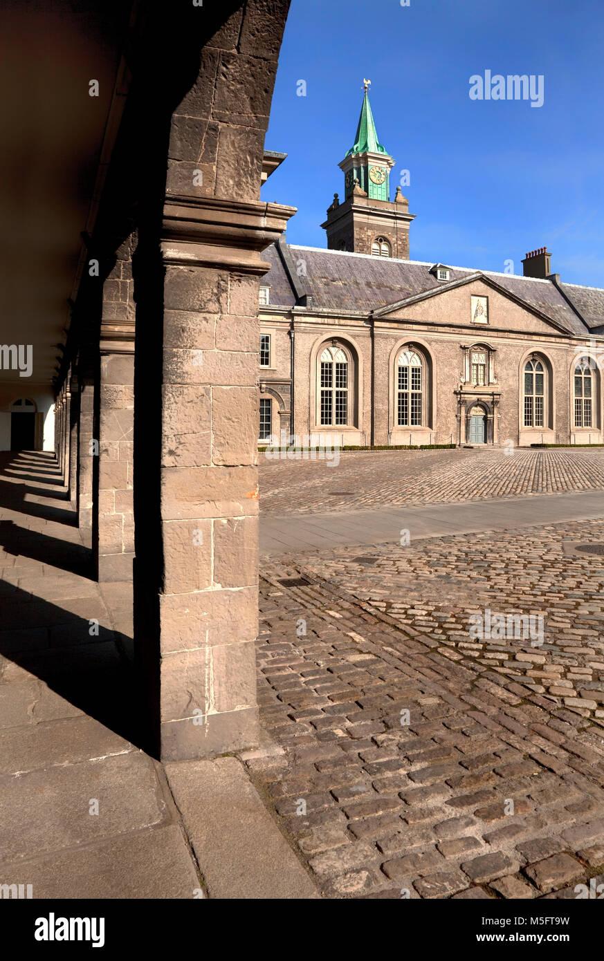 17th-centuryThe Royal Hospital Kilmainham, built 1684 by Sir William Robinson, Dublin City, Ireland - Stock Image