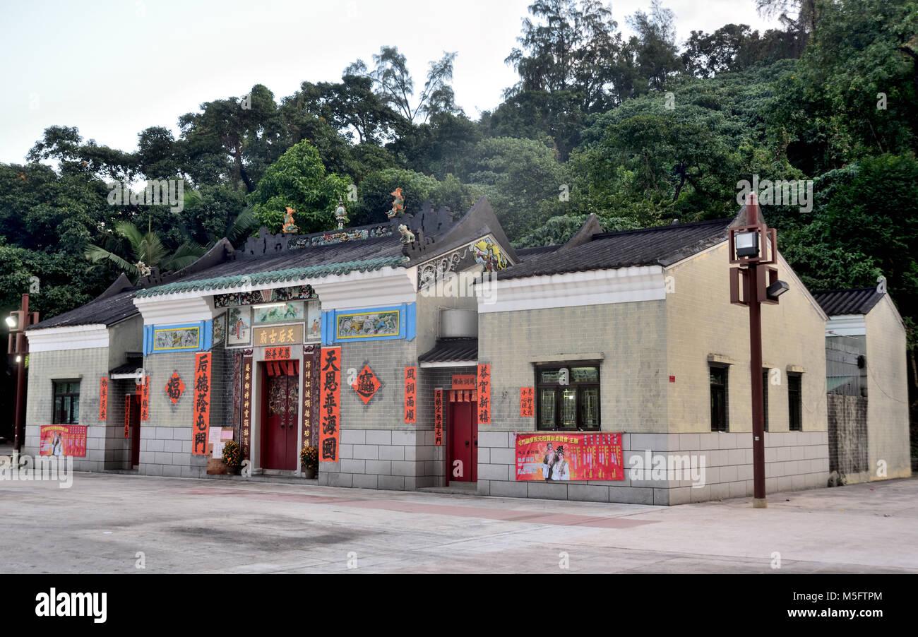 Tin Hau Temple, Tuen Mun, Hong Kong - Stock Image