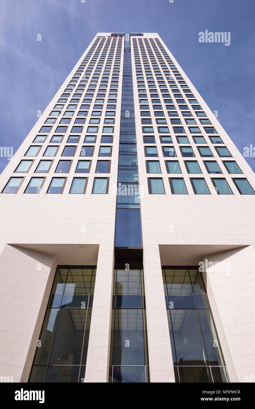 Opernturm, Frankfurt, Hessen, Deutschland, Europa - Stock Image