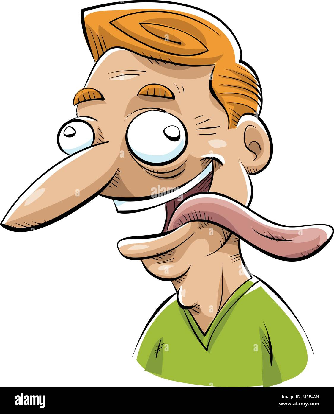 tongue out cartoon stock photos tongue out cartoon stock images rh alamy com cartoon sticking tongue out gif cartoon girl sticking out tongue
