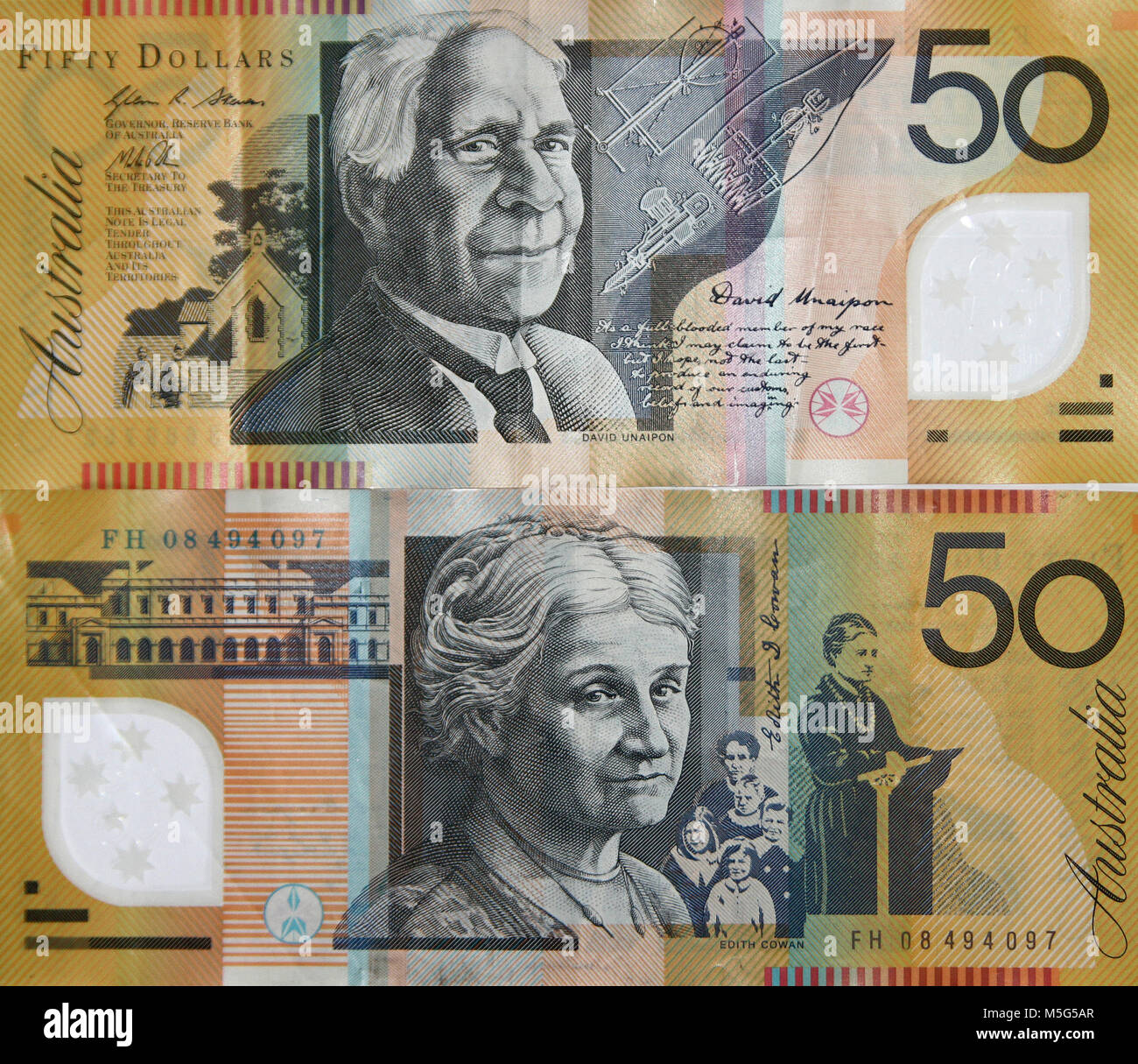 Australia 50 Dollars Banknote Good Condition Australian Banknote Bill