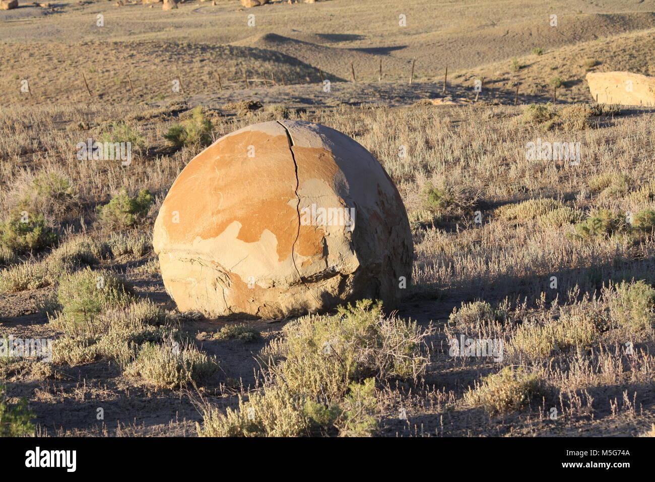Concretions in Emery County Utah Stock Photo