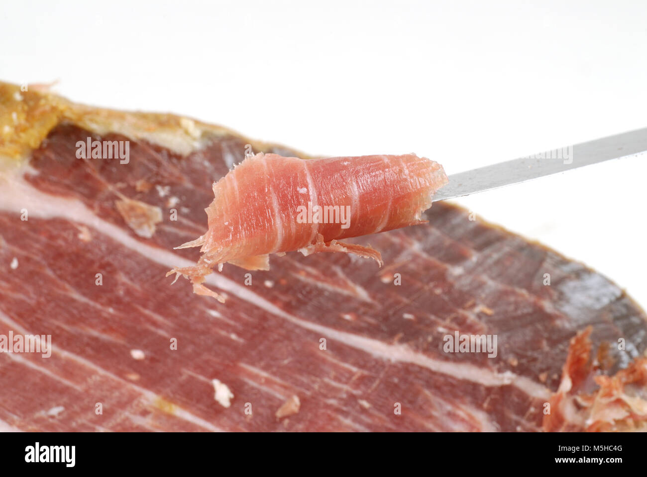 how to cut a ham