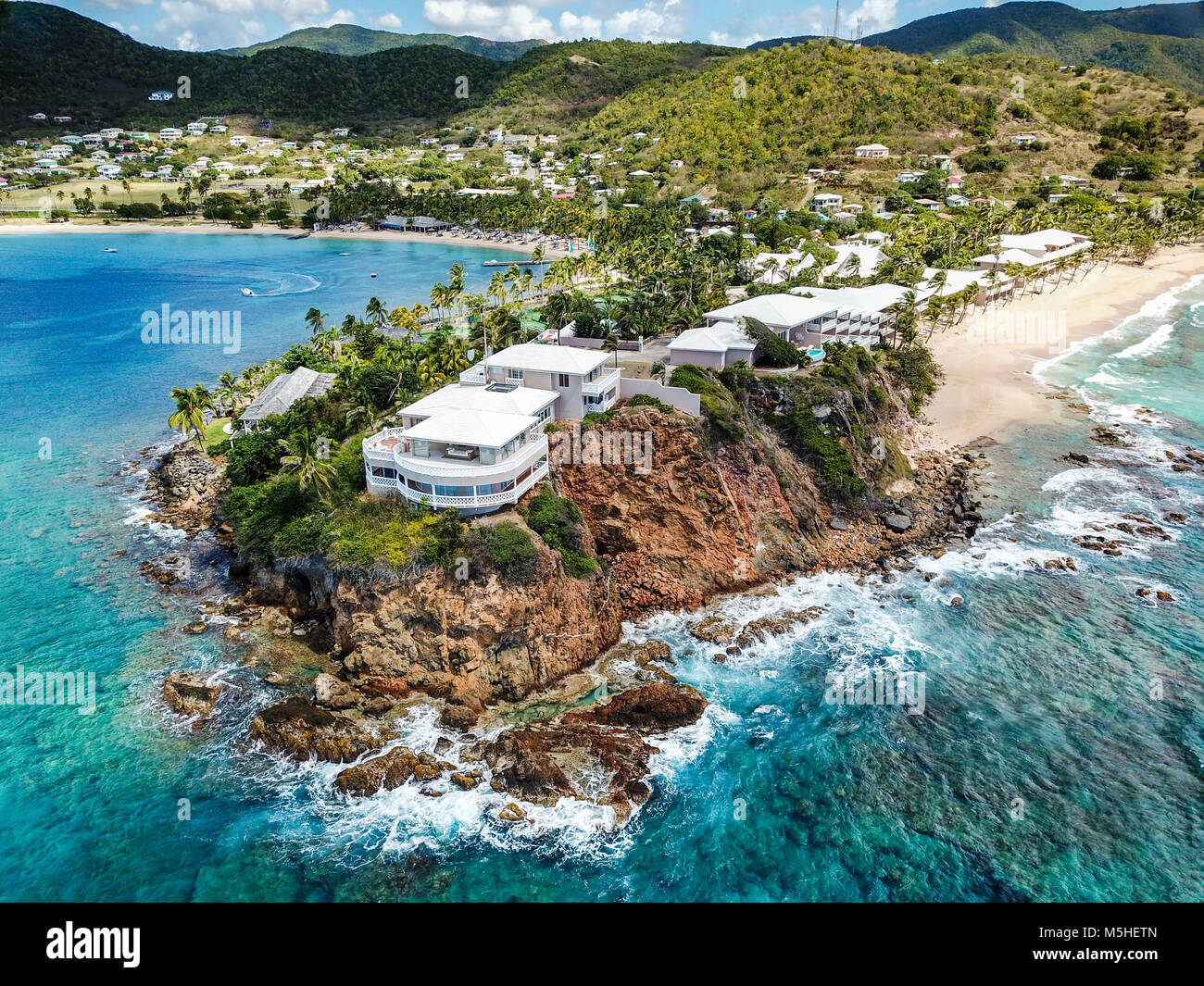 Curtain Bluff Resort, Antigua - Stock Image