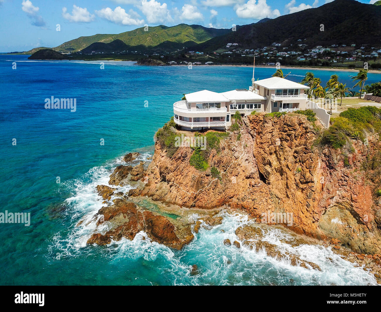 Curtain Bluff Resort, Antigua Stock Photo