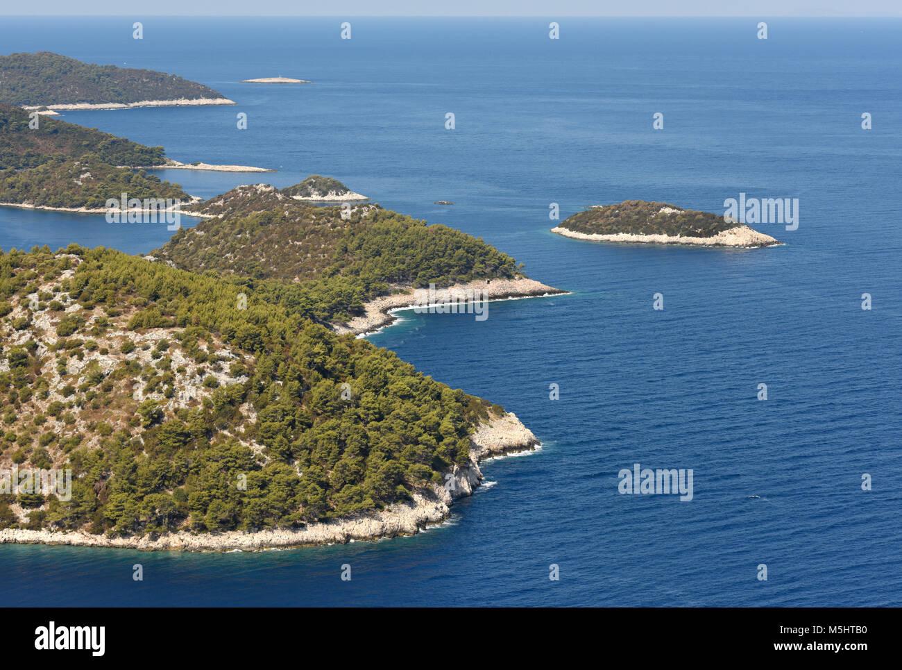 Lastovo islands, Croatia. - Stock Image