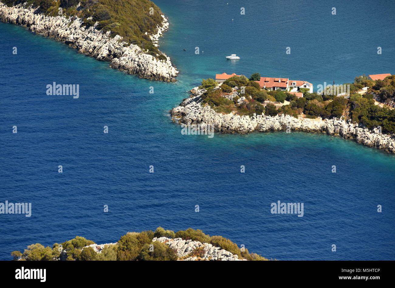 Adriatic island of Lastovo, Croatia. Stock Photo