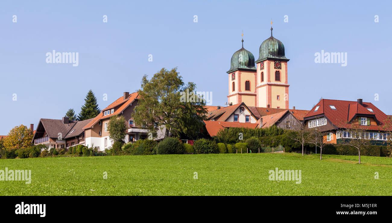 Deutschland, Baden-Württemberg, Schwarzwald, St. Märgen, Klosterkirche, Kirche - Stock Image