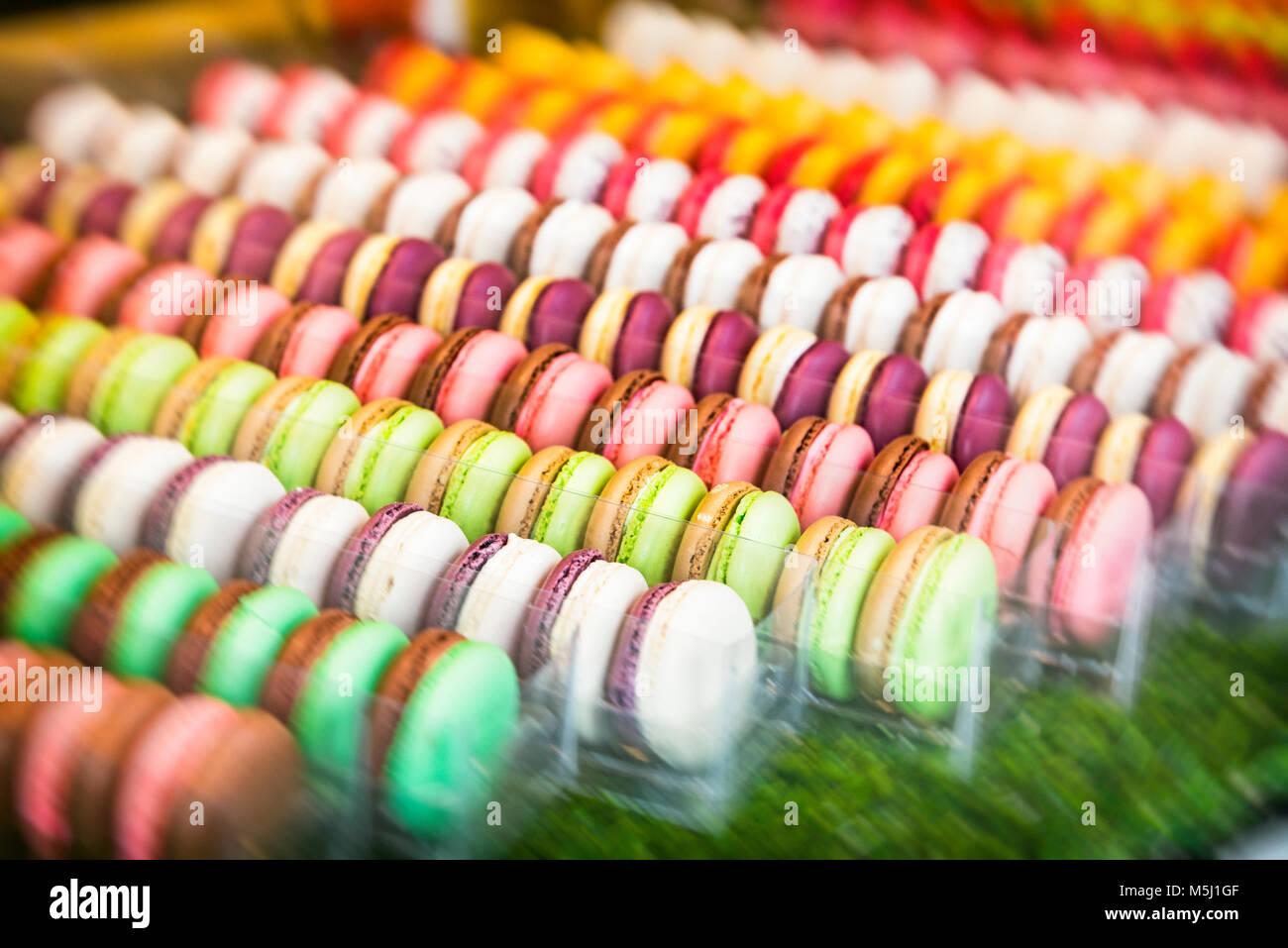 Macarons - Stock Image