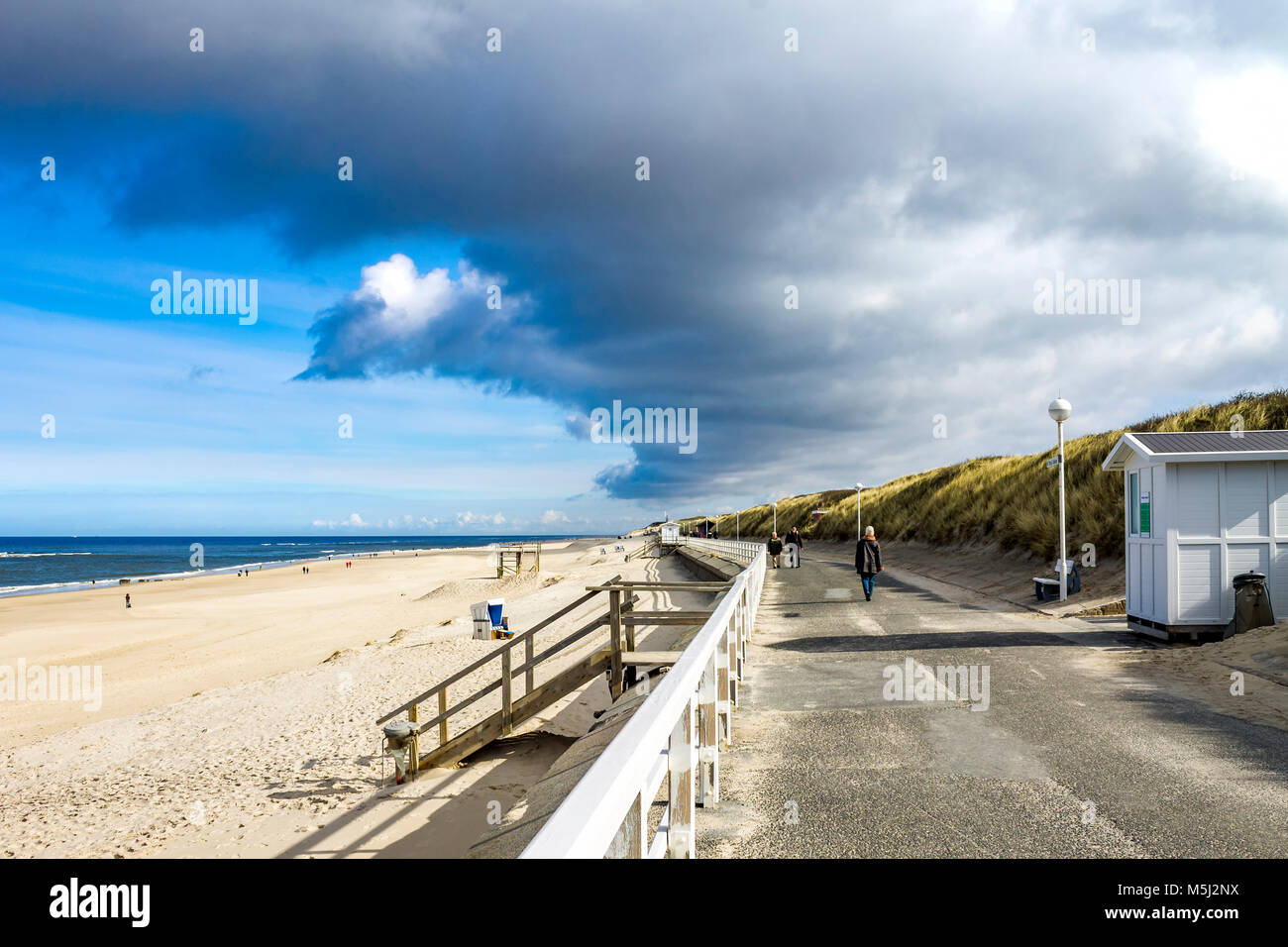 Germany, Schleswig-Holstein, Sylt, Kampen - Stock Image