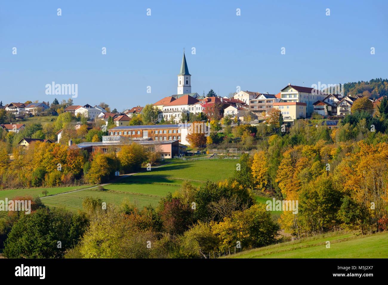 Perlesreut, Bayerischer Wald, Niederbayern, Bayern, Deutschland - Stock Image