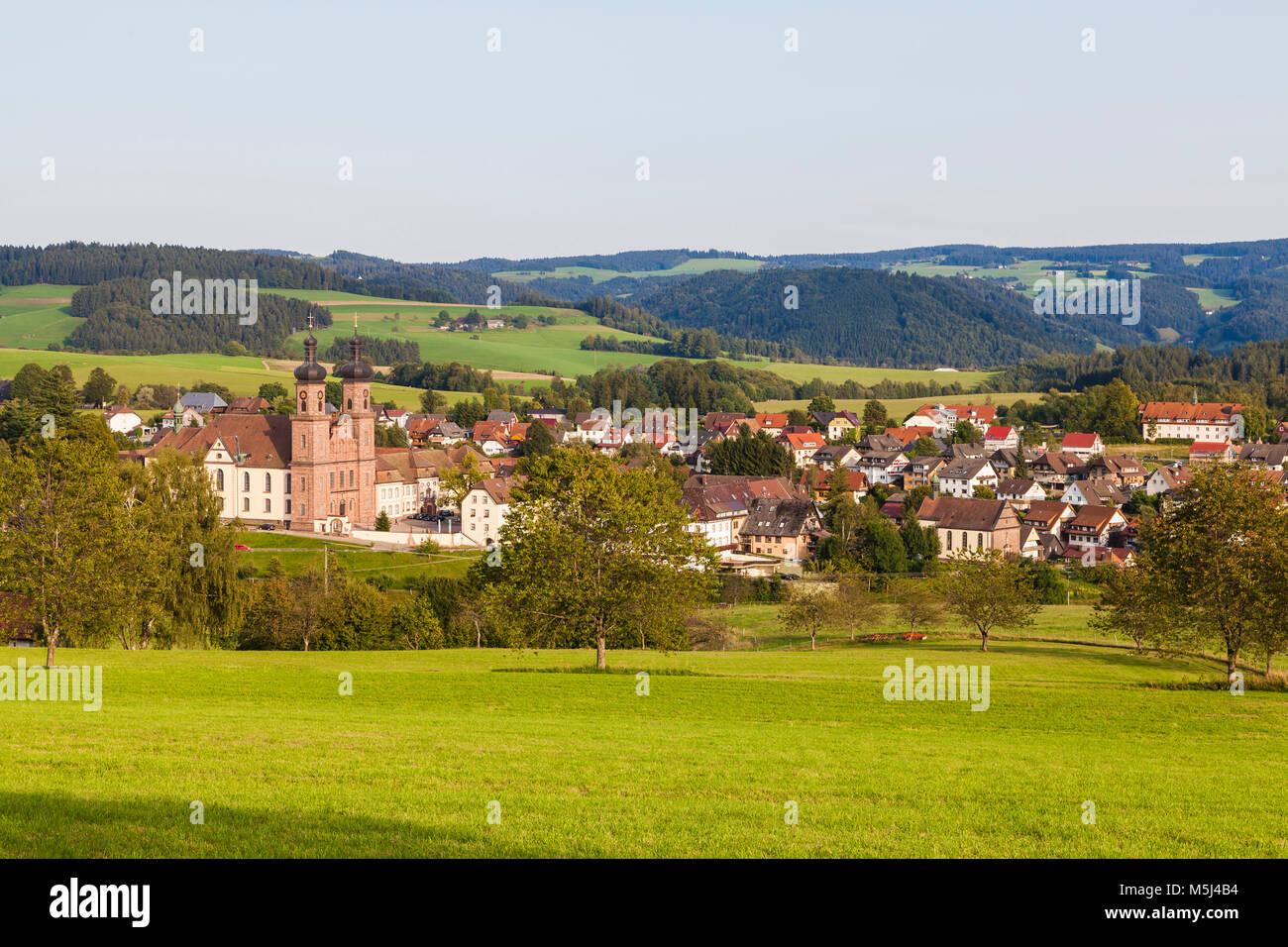 Deutschland, Baden-Württemberg, Schwarzwald, St. Peter, Kloster, Klosterkirche - Stock Image