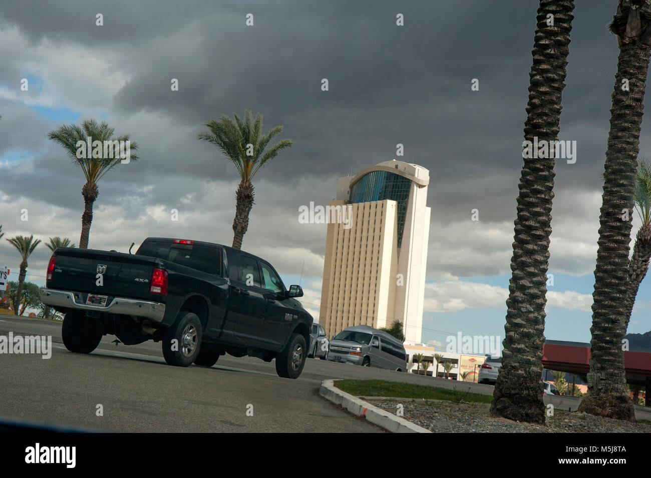 Morongo Indian Casino near Palm Springs, CA - Stock Image