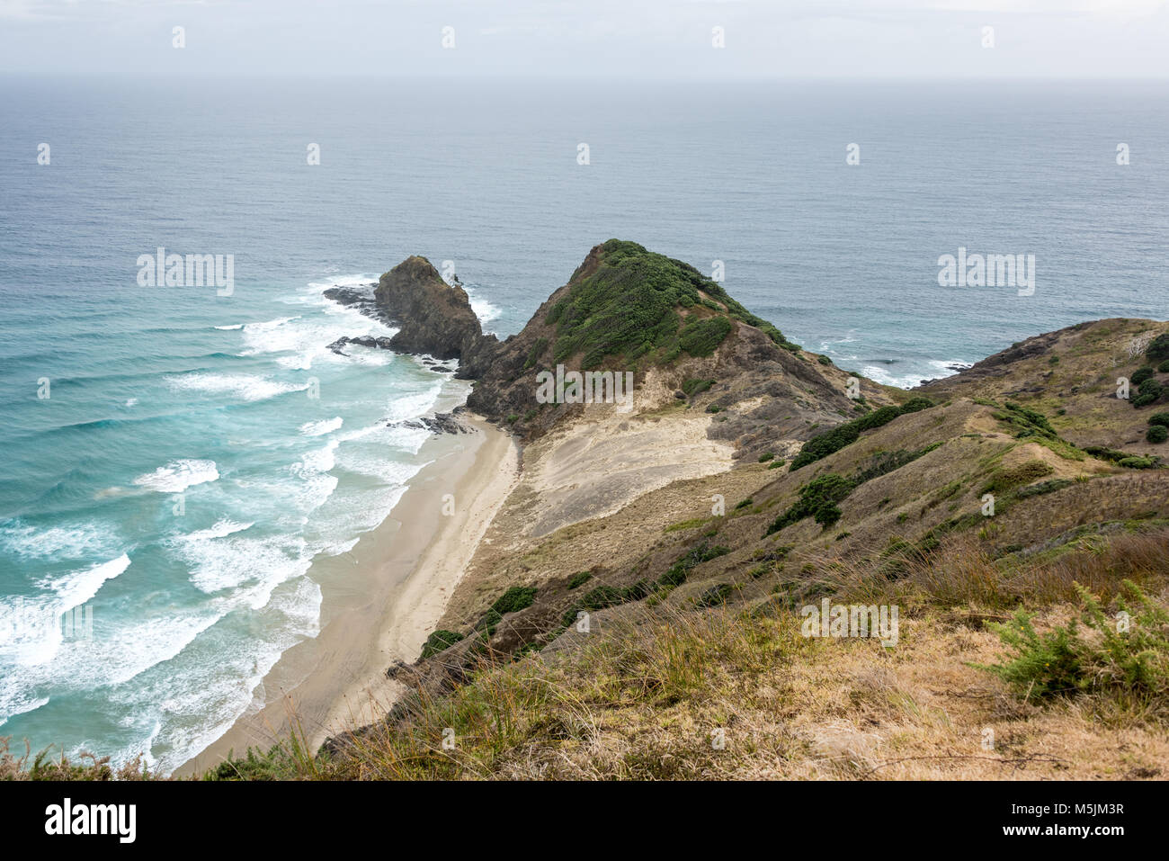 Cape Rienga ,the Northernmost Tip of the North Island, New Zealand - Stock Image
