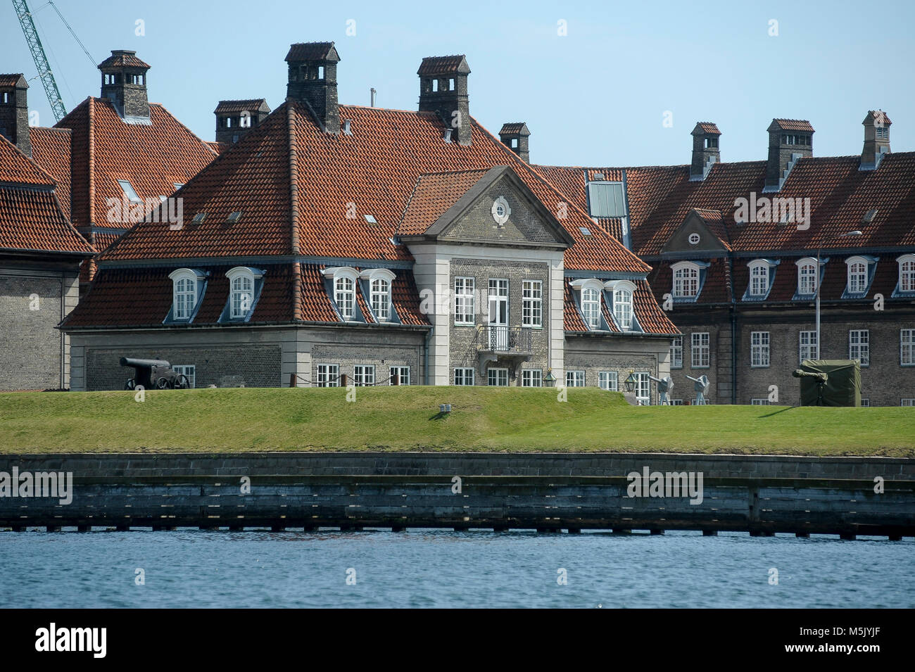 Old naval base at Holmen island in Copenhagen, Denmark, August 6th 2015 © Wojciech Strozyk / Alamy Stock Photo - Stock Image